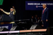 'Abki Baar Trump Sarkar': PM Cheers For US President From 'Howdy, Modi' Stage