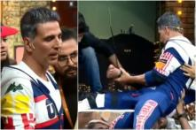 Akshay Kumar Saves Unconscious Man on Harness During a Reality Show, Watch Video