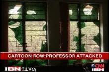 Cartoon row: Office of ex-NCERT advisor attacked