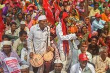 Tribals Protest in Ahmedabad Demanding Implementation of FRA, MNREGA