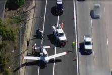 Watch: Pilot Lands Flight on Street