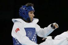 Turkey's Tazegul wins men's taekwondo gold