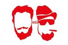 Coca-Cola's minimalistic poster tribute to Pran