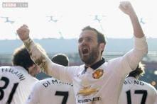 Juan Mata enjoys 'best game' for Manchester United