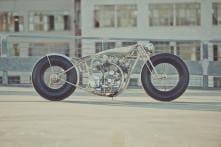 Royal Enfield 1000 cc V-Twin 'Musket' by Hazan Motorworks