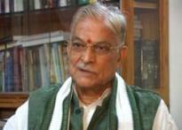 Centre compelled to disregard Ram Setu: Joshi