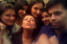 Tiff? What tiff? Karan Johar parties with SRK's wife Gauri; posts photo on Twitter