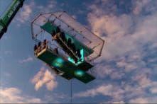 Drones Deliver Popcorn As Flying Cinema Takes Off in UK