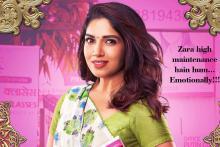 Bhumi Pednekar as Vedika Tripathi in 'Pati Patni aur Woh'