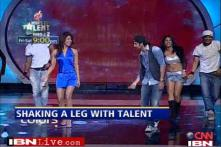 Talent hunt: Ranbir and Priyanka shake a leg