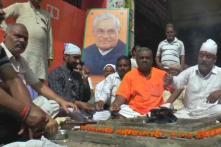 BJP Workers in Kanpur Perform 'Havan' for Atal Bihari Vajpayee's Well-Being