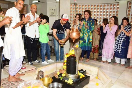 Hrithik Roshan Celebrating Mahashivratri