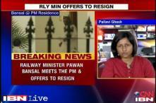 Railway bribery: Pawan Kumar Bansal offers to resign