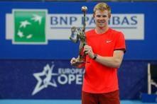 First ATP Title for Britain's Kyle Edmund