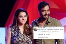 Ajay Devgn Leaking Kajol's Number Has Turned into Gold Mine of Memes