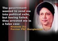Khaleda joins bete noire Hasina in prison