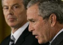 Bush, Blair call for multinational force