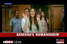 Watch the song 'Khwahishein' from Kareena's 'Heroine'
