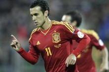 Pedro double helps Spain to 3-1 win over Uruguay