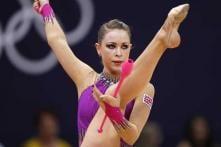 London 2012 Rhythmic gymnastics: Jones flops