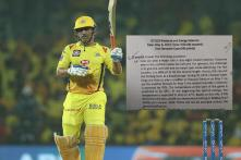 Should Dhoni Bat First or Field? IIT-M Asks Students to Help CSK Captain with Toss