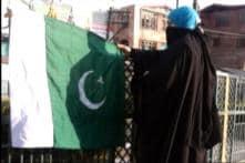 J&K: Asiya Andrabi's Dukhtaran-e-Millat raises Pakistani flags in Srinagar