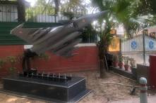 IAF Installs Rafale Fighter Jet Model Outside Air Chief's Akbar Road Residence