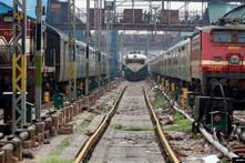 Four coaches of Lalkuan Express gets derailed in Lucknow