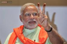 Modi reiterates his commitment to peace, non-violence ahead of LS results