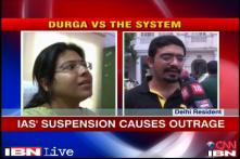 UP: IAS officer Durga's suspension causes outrage