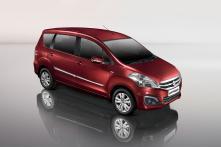 Maruti Suzuki Ertiga Limited Edition Launched at Rs 7.85 Lakh
