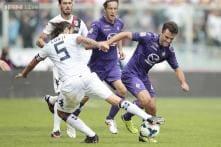 Fiorentina held to 1-1 draw by Cagliari in Serie A