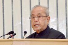 Rashtrapati Bhavan Unhappy as President Appears in Congress Poll Hoardings