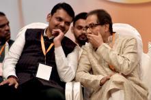 Devendra Fadnavis, Uddhav Thackeray Address Joint BJP-Sena Legislators' Meet