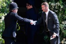 Beckham Wins Fans' Hearts with this Gesture at Royal Wedding