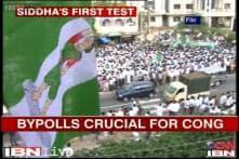 Two key by-polls underway in Karnataka; crucial day for Congress
