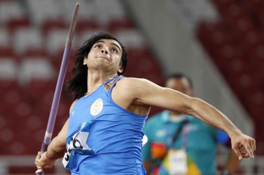 Neeraj Chopra (Photo Credit: Reuters)