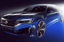 2020 Volkswagen Passat Teaser Sketches Released Ahead of Debut at Detroit Auto Show