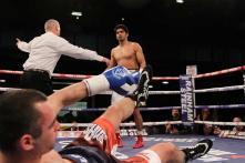 Vijender Thrashes Soldra Via TKO to Win His 6th Successive Bout