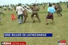 Andhra protester dies in police-farmer clash