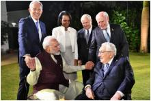 PM Modi Meets Powerful Leaders at JP Morgan's Council Meet