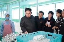 Kim Jong-un Visits Cosmetics Firm With Wife Ri Sol-ju