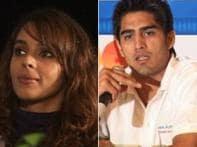 Boxer Vijender turns singer for Mallika Sherawat