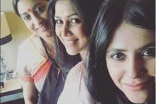 When Ekta Kapoor Reunited With Tulsi Virani and Parvati Agarwal Backstage