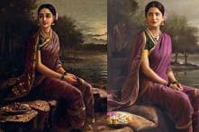 Celebrity Photographer Recreates Ravi Varma Paintings With Celebs