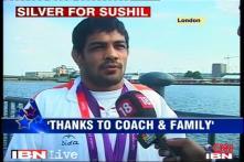 Sushil dedicates his silver medal to countrymen