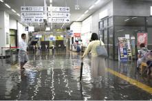 Japan Orders 240,000 to Evacuate Over Flood, Landslide Fears After 'Unprecedented Levels of Rain'