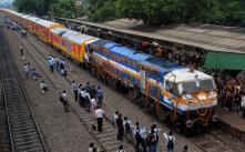 Delhi: AC double-decker for Jaipur flagged off