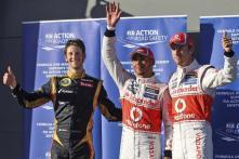 Hamilton leads McLaren 1-2 in Aus qualifying