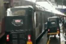 Man Rides Auto on Mumbai's Virar Railway Platform to Rush Pregnant Woman to Hospital